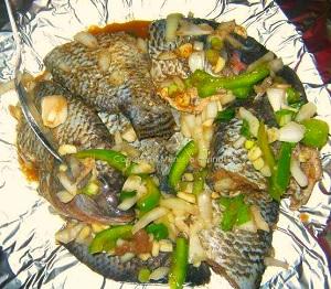 Poisson En Papillote De Brazzaville Afrik Cuisine Com Toute La